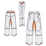 Trousers 2 in 1 LEMANYA 2.5ML